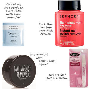 On-the-Go Nail Polish Removers
