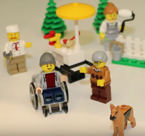 Lego Releases First Disabled Figure
