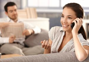 Q&A: He Hates It When I Talk on the Phone