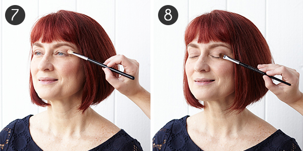 Makeup for Red Hair: Steps 7-8