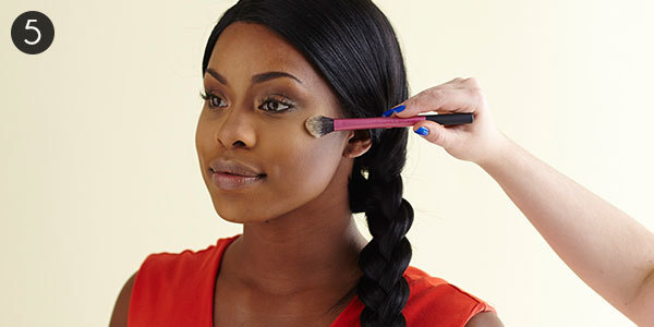 African American Cream Contour: Step 5