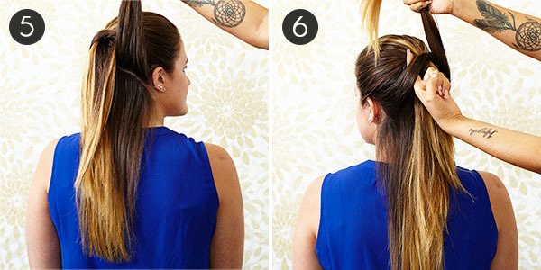 Try This Effortless, Glamorous Half Updo
