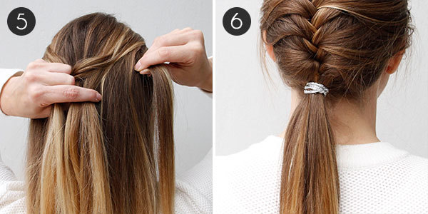 Try This Pretty Sophisticated French Fishtail Braid More