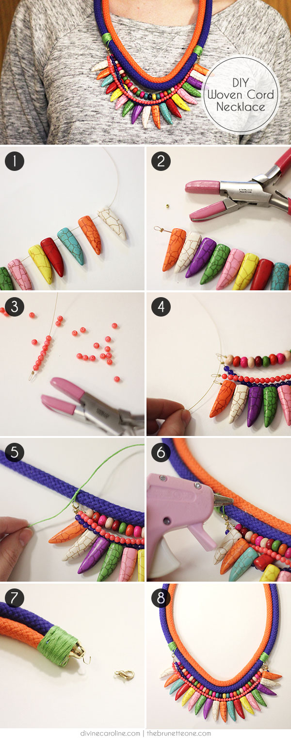 DIY Style: How to Make a Woven Cord Necklace | more.com