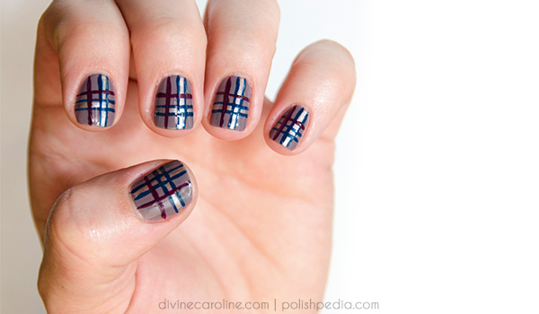 Easy plaid nail art how to more easy plaid nail art how to prinsesfo Choice Image