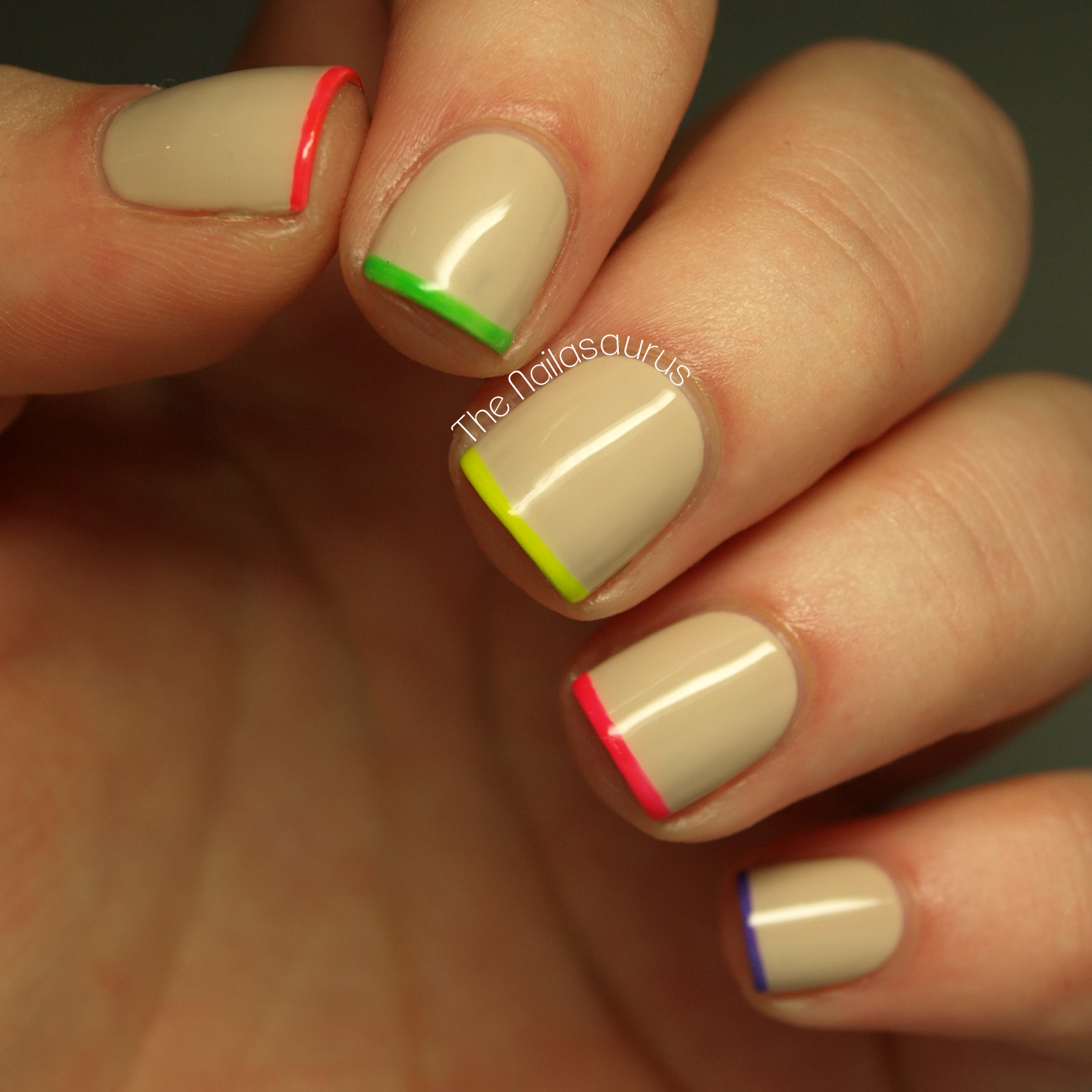 Nail Trends: Neon-Tipped Nails | more.com