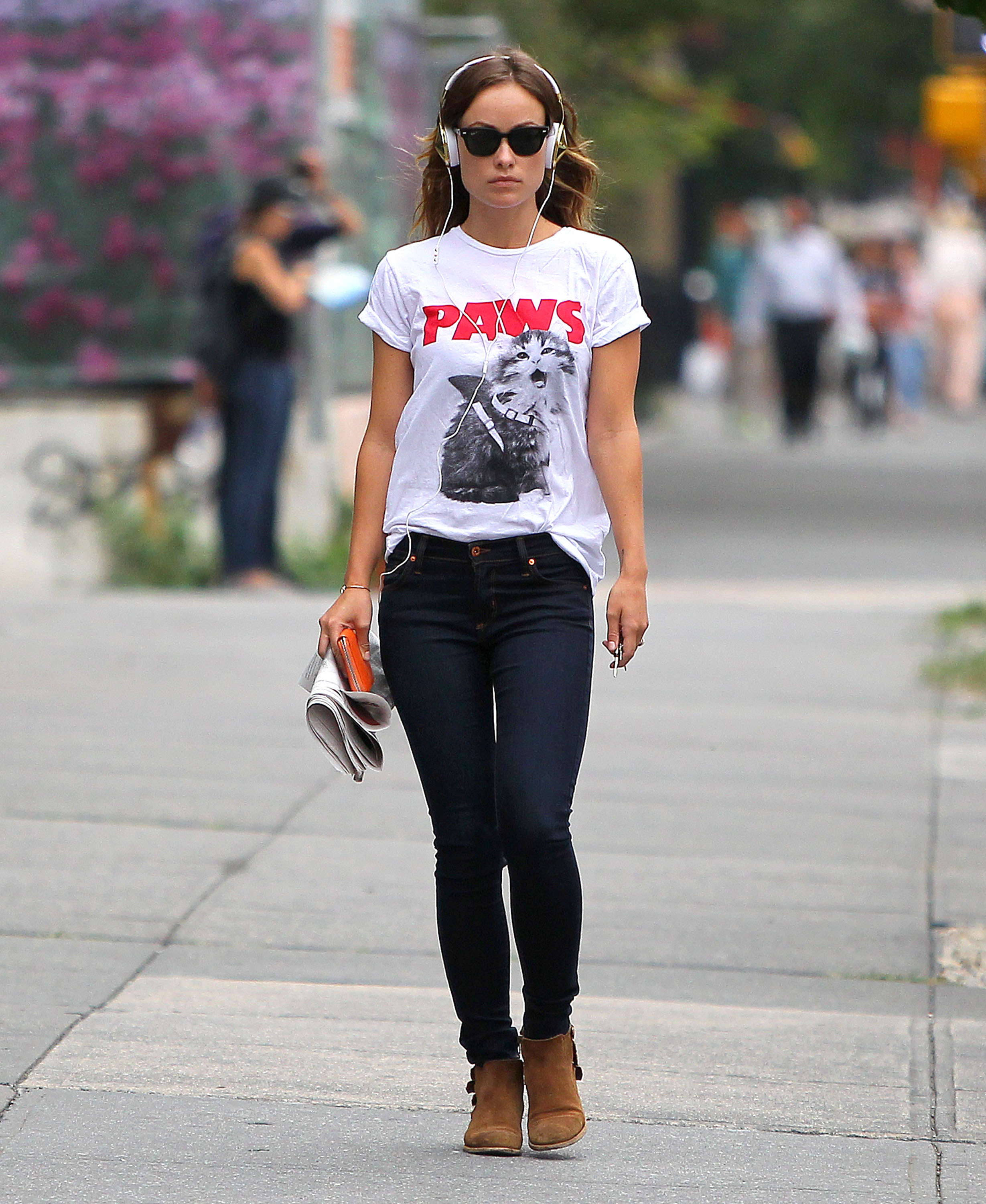 The Music Conquers The T-Shirts in The Autumn (And to Olivia Wilde)