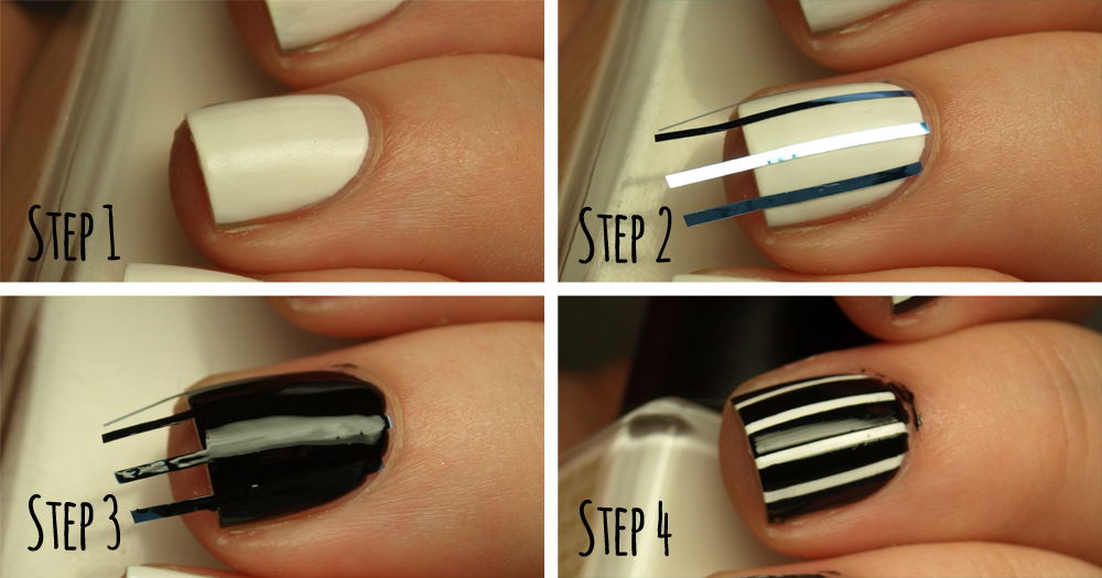 How to create the perfect pinstriped nail design more how to create the perfect pinstriped nail design prinsesfo Images