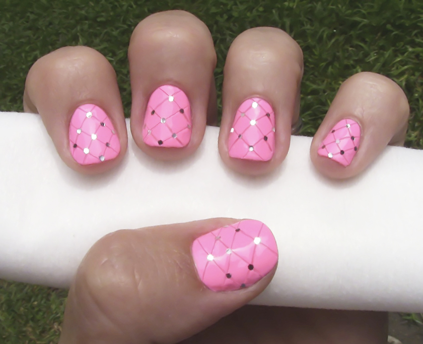 How To Do Quilted Nail Art More