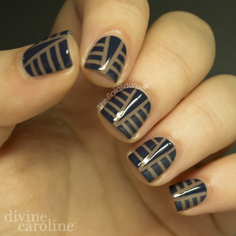 Art Deco Nail Art Design | more.com