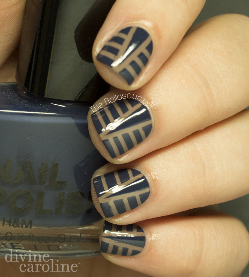art deco nail art design | more