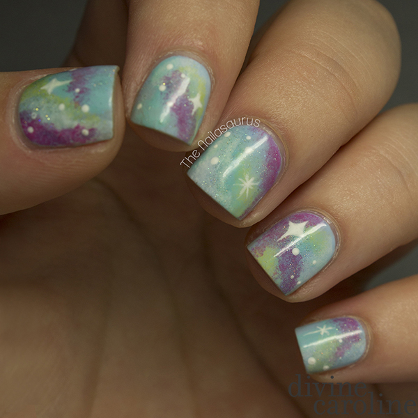 Galaxy Nail Art Design More