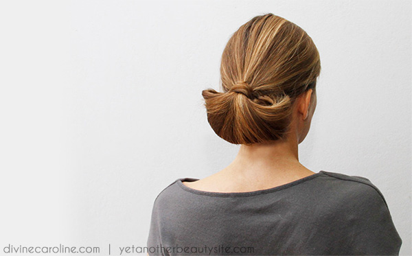 Hairstyle How To Half Moon Updo More