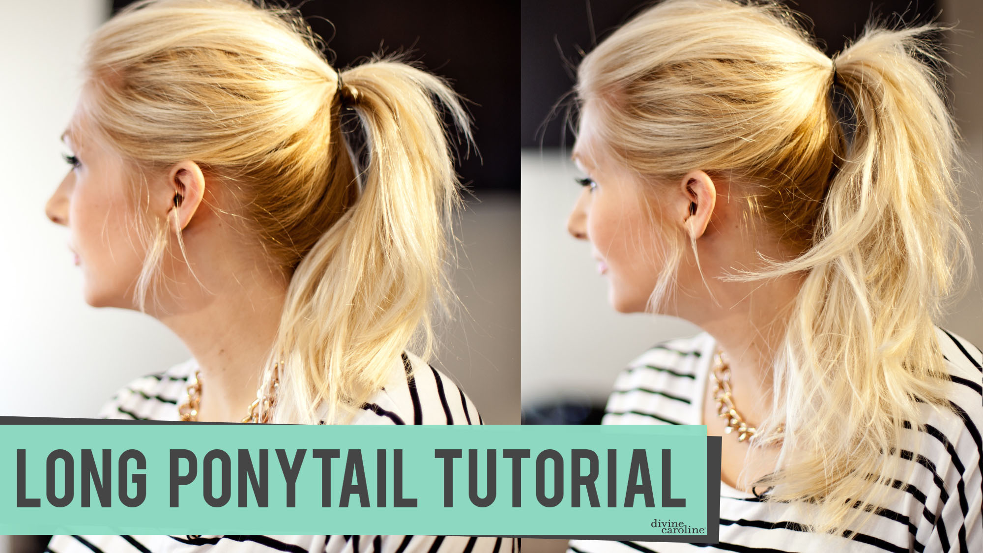 How To Create Or Fake A Long Ponytail More