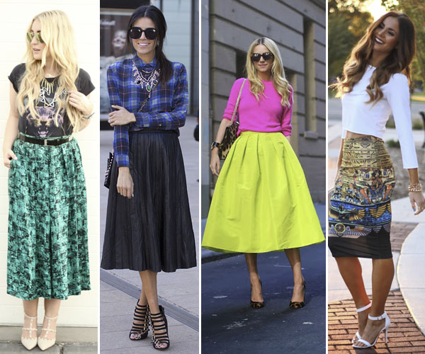 4f05dcbec0 Mad About Midi Skirts: This Season's Most Flattering Trend - More