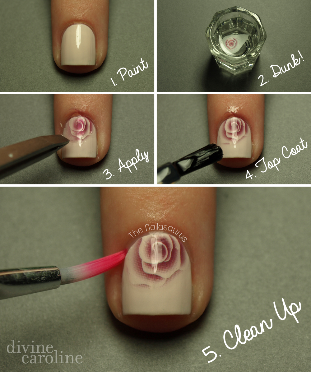 Nail Art Made Easy Water Decals More