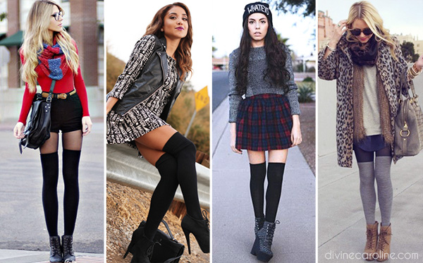 Thigh High Socks Tips To Flatter And Be Fashionable