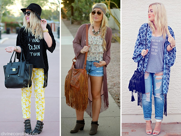 Different Ways to Wear Kimono