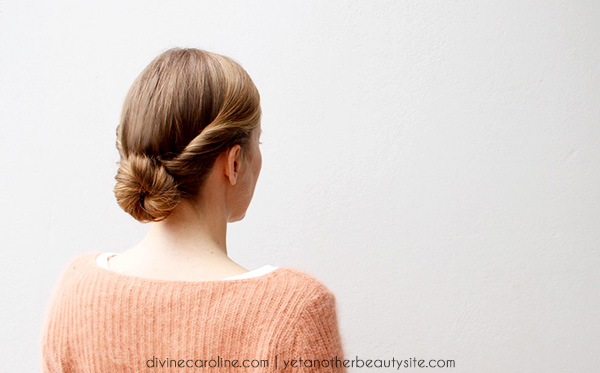 5 Minute Hairstyles For Short Hair: Hairstyle In A Hurry: A 5-Minute Updo