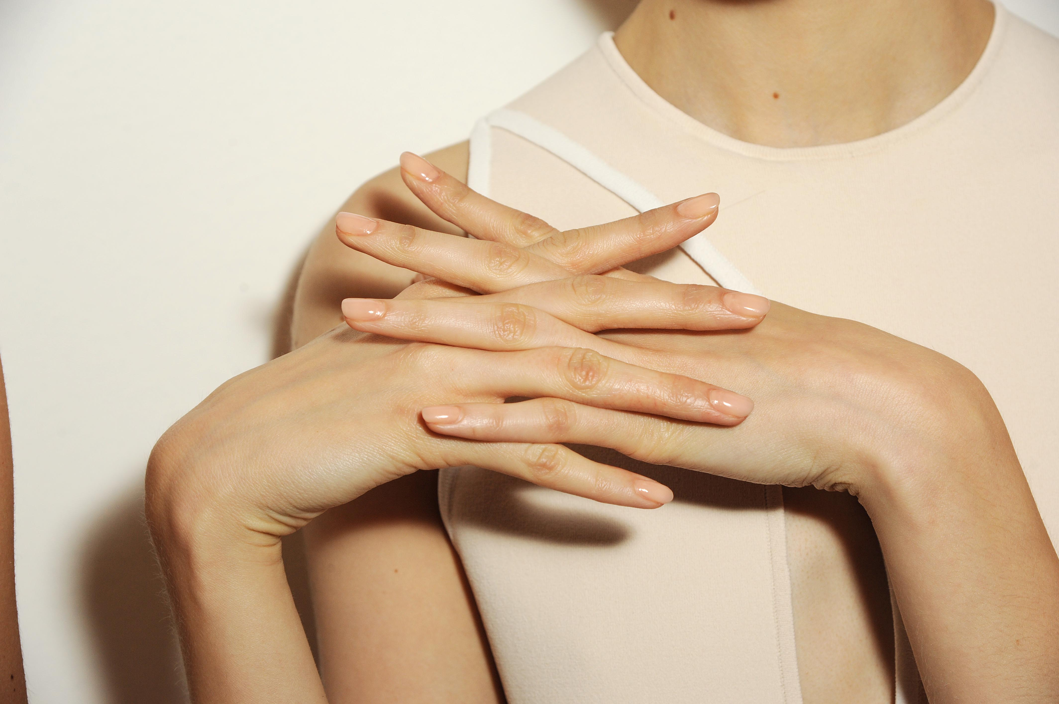 NYFW: Nails by butter LONDON on the Louise Goldin Runway   more.com