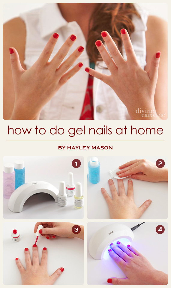 How to do gel nails at home more gel nails trump a regular mani with their durability but can cost anywhere from 25 100 depending on salon or spaa bit too pricey for those of us on tight solutioingenieria Gallery