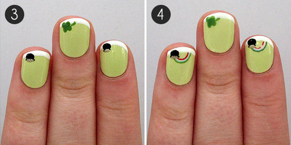 Lucky Us St Patricks Day Nail Designs To Show Off Morecom