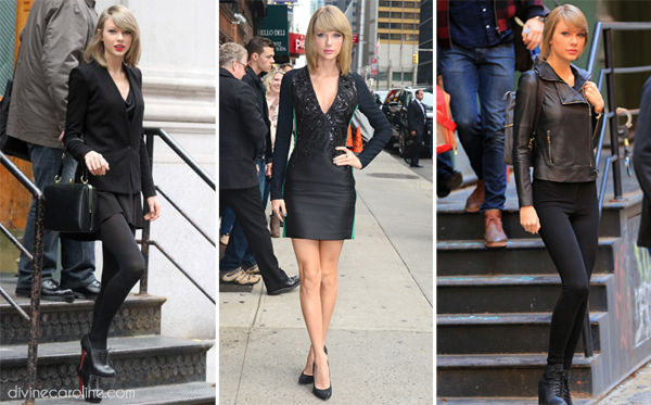 taylolr swift all black
